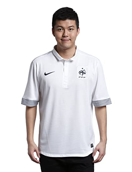 sneakers for cheap 7b016 0cd5e Amazon.com : Nike World Cup France 2012 Away Jersey - White ...