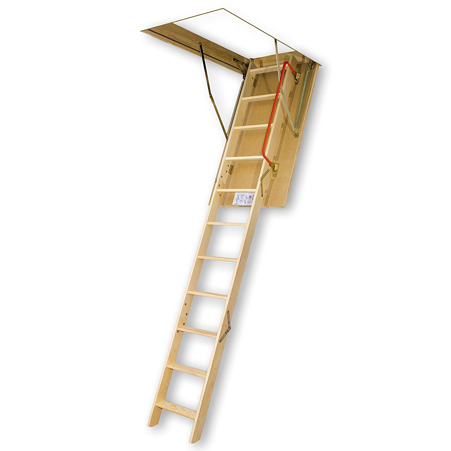 FAKRO LWS-PL 66855 Insulated Attic Ladder for 30-Inch x 54-Inch Rough Openings
