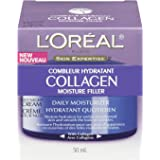 Dermatologist-tested L'Oreal Paris Collagen Moisture Filler Anti Aging Night Face Cream, 1.7 oz.