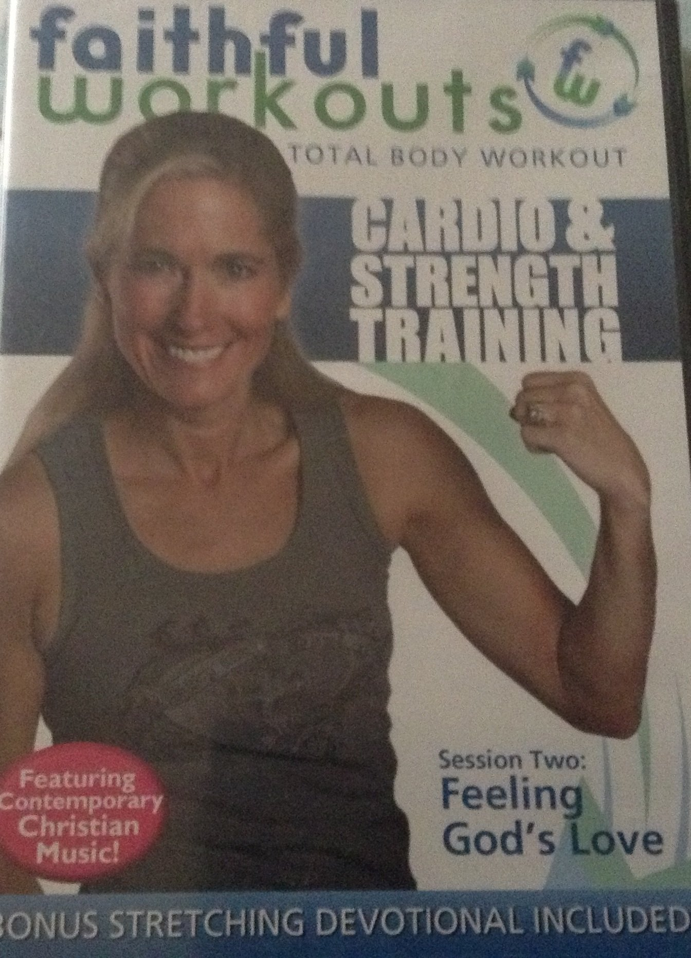 Faithful Workouts Session Two: Feeling God's Love DVD