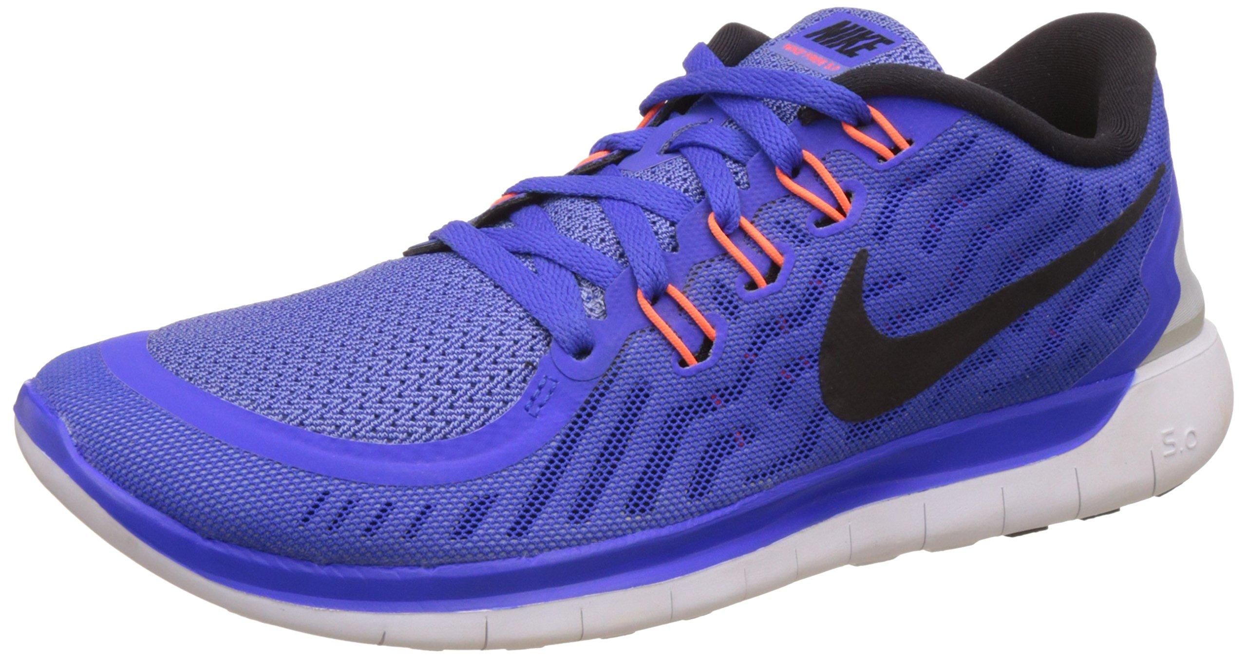 2ddcd1aebfb4 Galleon - Nike Womens Free 5.0 Racer Blue Black Chlk Blue White Running  Shoe 8 Women US