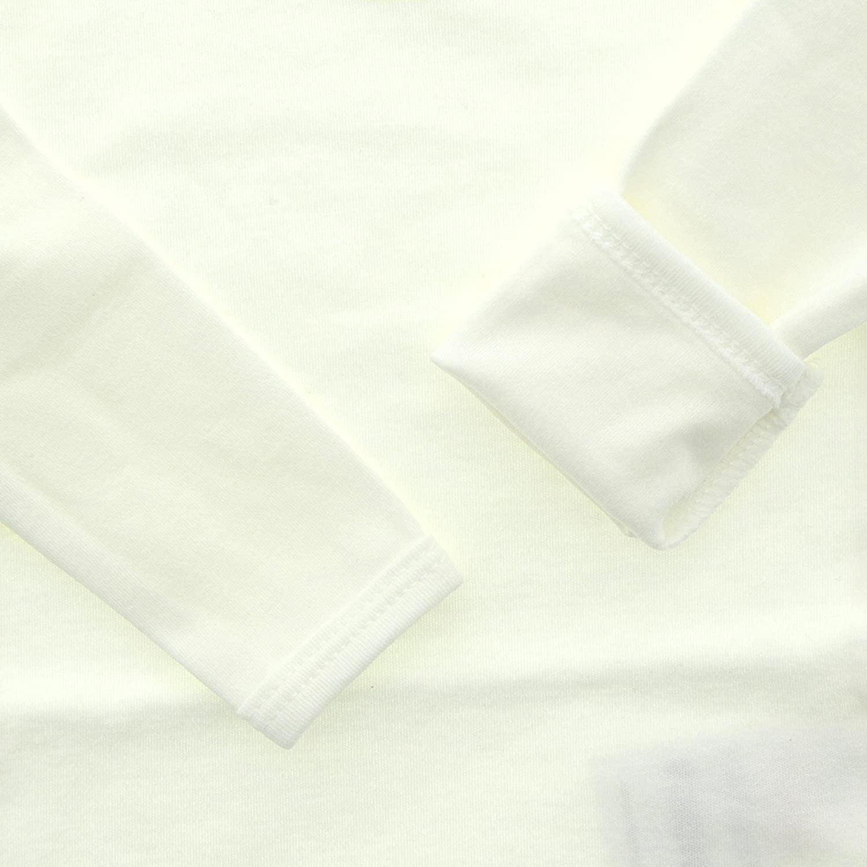 Fixoni unisex Langarm Baby 100/% Baumwolle und Kinder Body