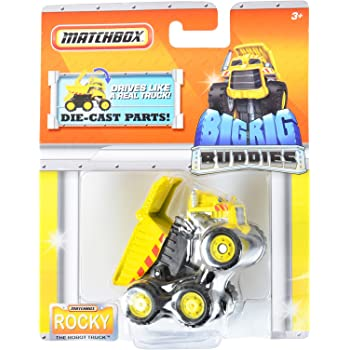 Amazon Com Matchbox Big Rig Buddies Quot Rocky The Robot