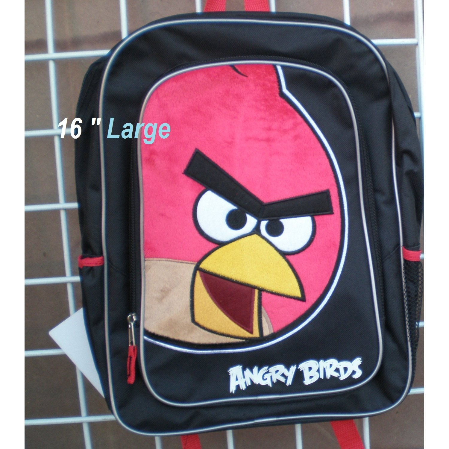 bb28fd2c37ce Angry Birds BackPack - Angry Birds School Bag  Amazon.in  Bags ...
