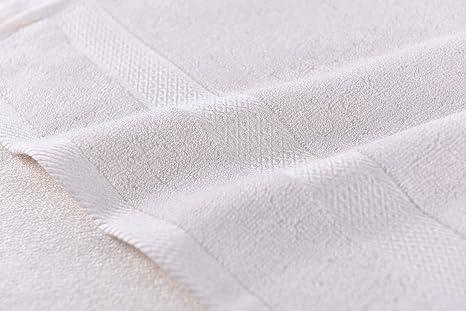 100% bambú), diseño de mano, baño, cocina, gimnasio toallas.