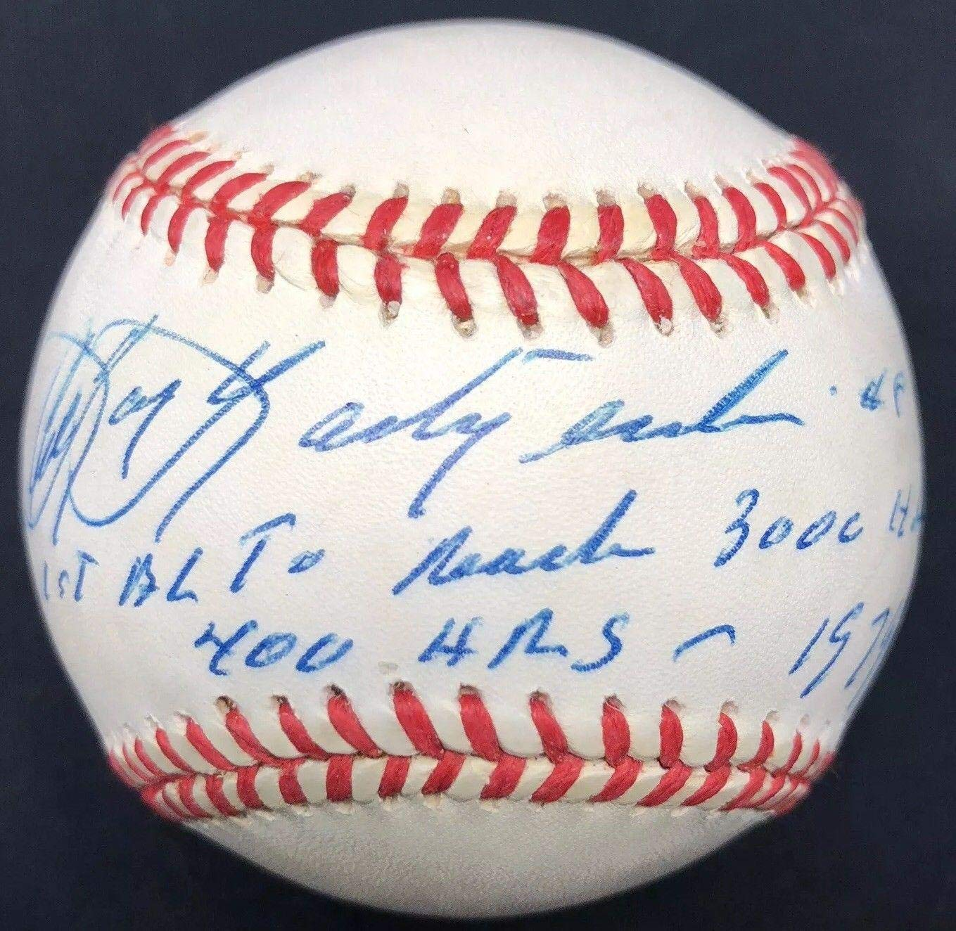 11db4b44a43 Carl Yastrzemski Signed Baseball - Yaz - PSA DNA Certified - Autographed  Baseballs at Amazon s Sports Collectibles Store