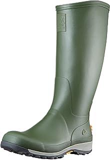 Viking 155838 - Botas de caucho para hombre, color verde, talla 38