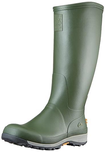 Viking Unisex-Erwachsene Fauna Gummistiefel, Grün (Green 4), 46 EU