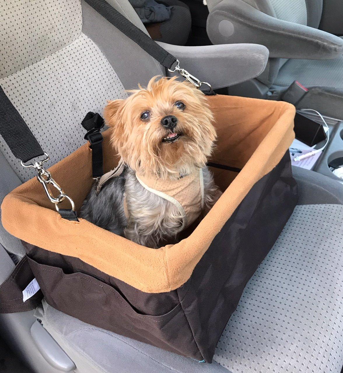 Anima cs1701 Pet Boost Car Seat, Brown, 16 x 13 x 8.5