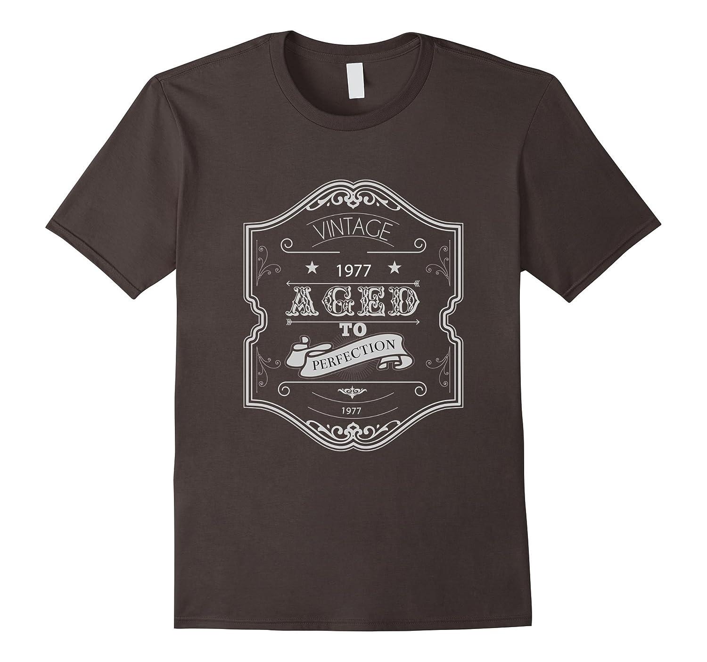 1977 Birth Year Birthday Tee Shirt Fathers Day Gift-TH