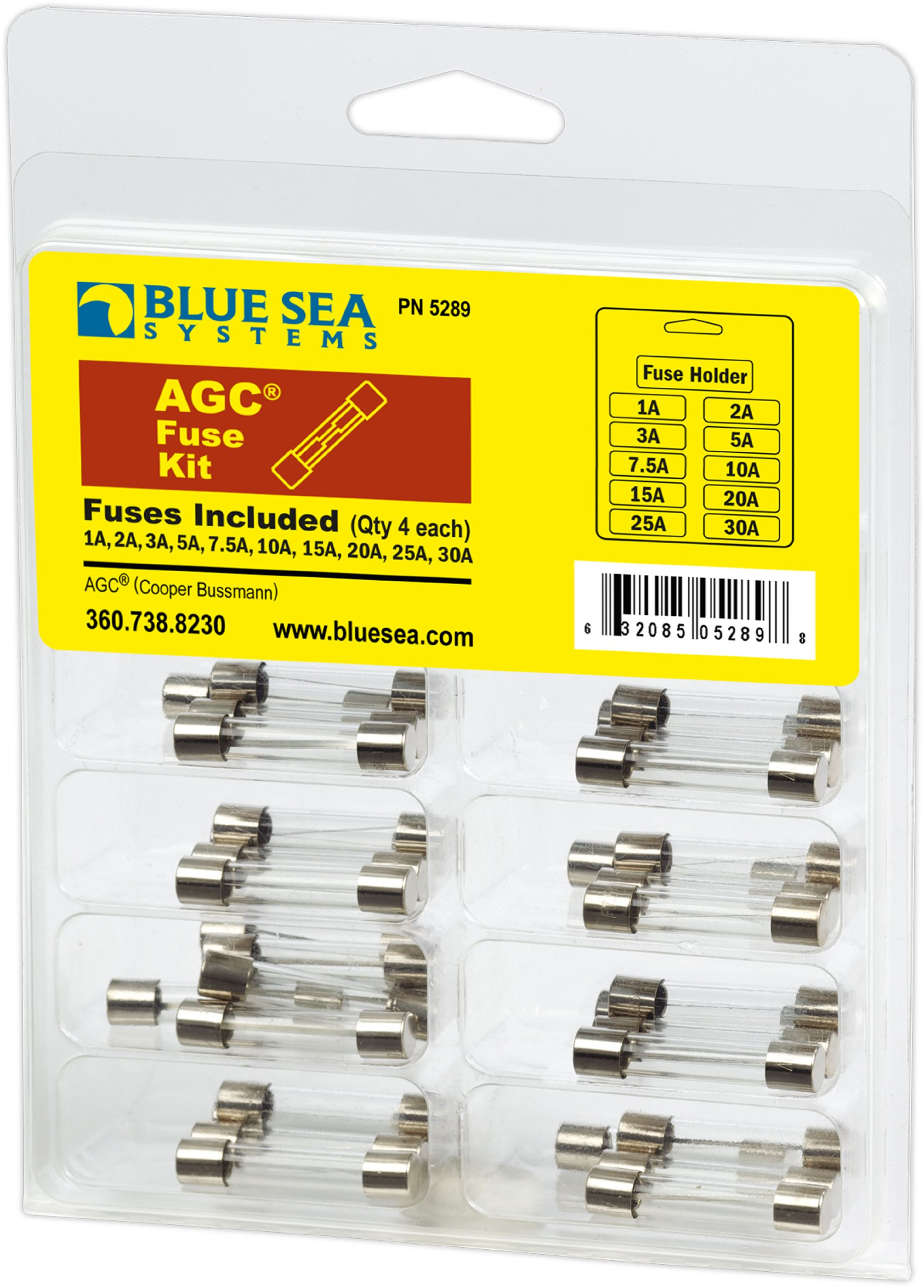Blue Sea Systems AGC Fuse Kit (41-Piece)