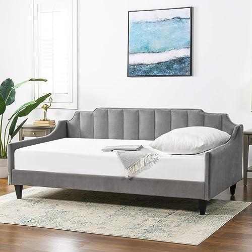 Jennifer Taylor Home Edgar Channel Sofa Bed