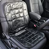 Hardcastle Genuine Leather orthopaedic Front Car Seat Cushion