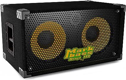 Markbass New York 122 Ninja 2x12 Richard Bona Signature Bass Speaker Cabinet Black