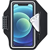 ykooe Running Phone Armband Case for iPhone 11,12, Pro, Max, XR, XS,8,7,6, Plus Sports Exercise Gym Workout Card Holder Arm B