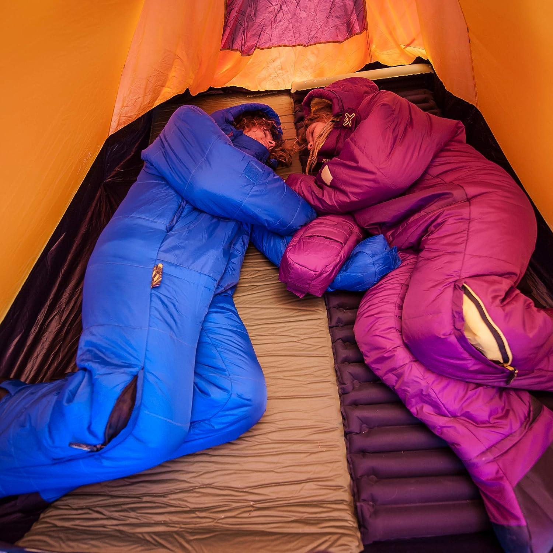 Selkbag Lite 6G Sac de Couchage Unisexe Bleu Nuit S Violet Soir/ée