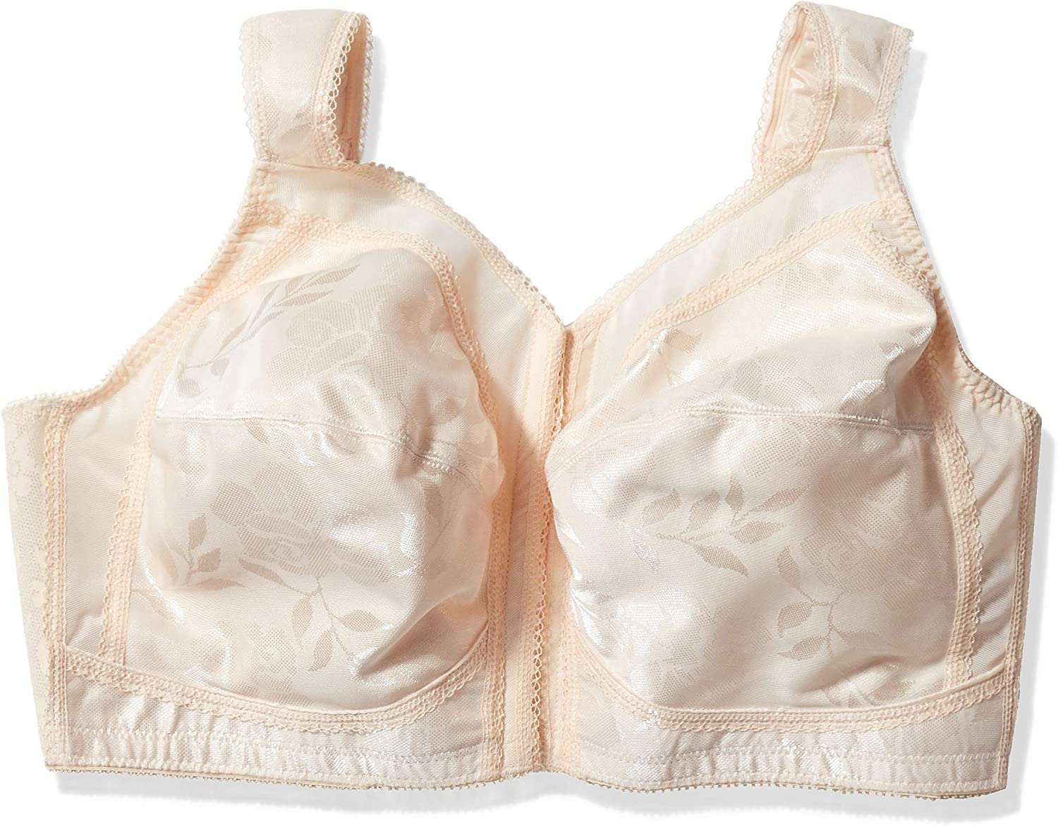 Playtex Women/'s Plus Size Front-Close Bra with Flex Back