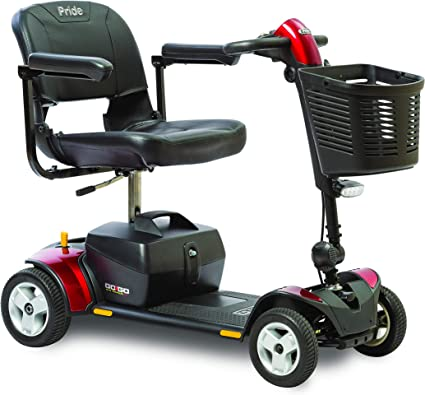 Amazon.com: Pride Mobility Go-Go Traveler Elite Plus 4-Wheel ...