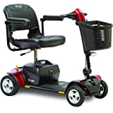 Pride Mobility Go-Go Traveler Elite Plus 4-Wheel Scooter SC54 for Adults, 18ah Battery Pack
