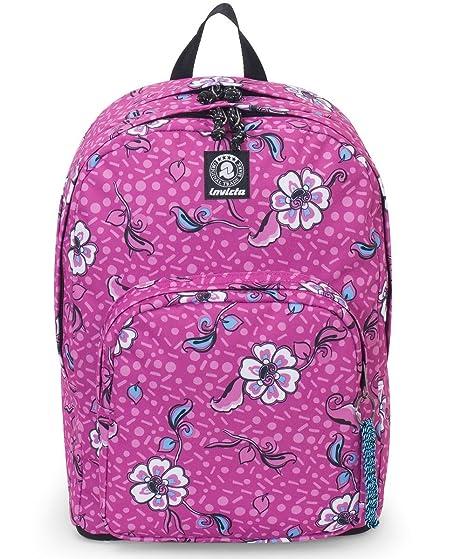 88b38ee1b4 ZAINO INVICTA - FORMAT - Rosa - tasca porta pc padded - scuola e tempo  libero