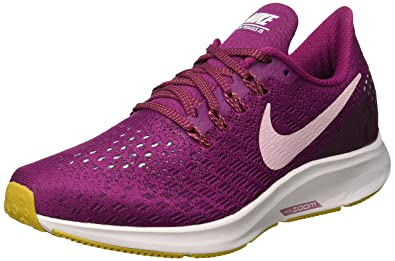 3e41dbf2832 Nike Women s WMNS Air Zoom Pegasus 35 Running Shoes Red (True Berry Plum  Chalk