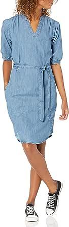 Marca Amazon - Goodthreads Denim Smock Dress - dresses Mujer