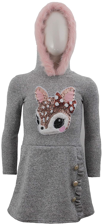 Pullover Pullover a Maniche Lunghe Unbekannt Unicorn Abito da Ragazza Paillettes