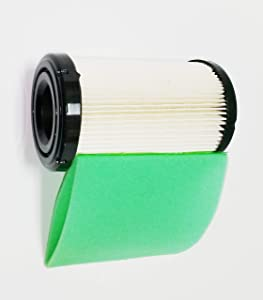 Air Filter Plus Pre-Filter For Briggs & Stratton Air Filter 796031, 591334, 594201, Pre-Filter 797704
