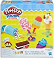 Play-Doh - Kitchen Creations - Frozen Treats playset inc 7 Tubs of Dough & acc - Creative Kids Toys - Ages 3+