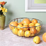 Home District Wire Fruit Basket with Banana Hanger