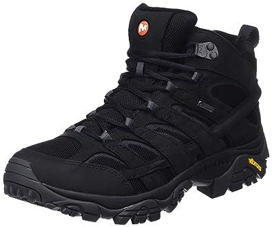 b226327cf45 Amazon.com: Merrell Shoes Moab 2 Smooth Mid Gore-Tex J46551 Black ...