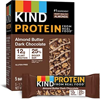 product image for KIND Protein Bars, Almond Butter Dark Chocolate, 30 Count