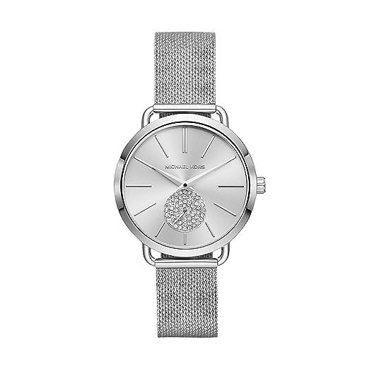 Michael Kors Reloj Analogico para Mujer de Cuarzo con Correa en Acero Inoxidable MK3843: Amazon.es: Relojes