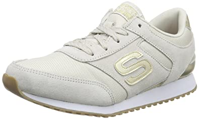Skechers OG 78 Gold Fever, Damen Sneakers, Weiß (WTGD), 36 EU