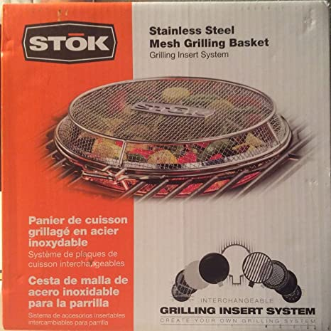 Amazon.com: Stok Stainless Steel Mesh Grilling Basket-New: Kitchen ...
