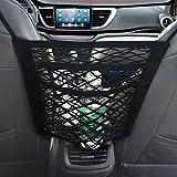 NEOUZA 3-Layer Car Mesh Organizer, Seat Back Net Bag, Barrier of Backseat Pet Kids, Cargo Tissue Purse Holder, Driver…
