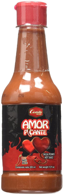 Amazon.com : Salsas Castillo Amor Picante Hot Sauce : Grocery & Gourmet Food