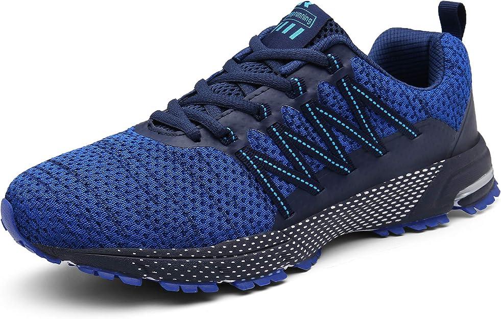 Sollomensi Sneakers Herren Damen Unisex Blau