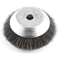 Cepillo redondo para desbrozadora, 200 x 25,4 mm