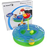 Mr. Peanut's Cats & Kittens Toy with Interactive Intelligence Track Ball Tower, Provides Hours of Mental Stimulation and Physical Play