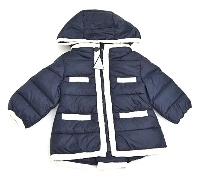 the latest 95b7b 054e6 2966S piumino bimba MONCLER PALAGIE 100 gr blu/bianco jacket ...