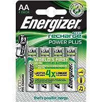 Batterie Stilo Ricaricabili Nimh Aa 1.2 V Power Plus 2000 Mah (4 Pz)