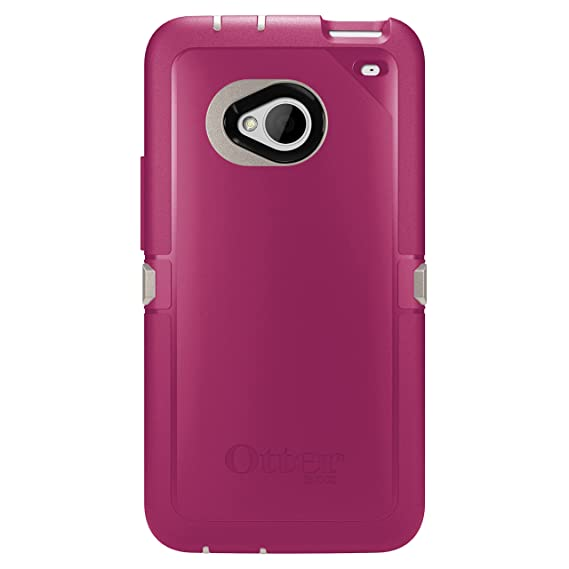 check out afe8f 4b7bd OtterBox 77-26419 Defender Series for HTC ONE Blushed