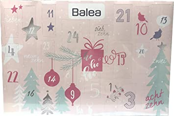 Beauty Weihnachtskalender.Balea Adventskalender 2018 Advent Calendar Beauty Kosmetik