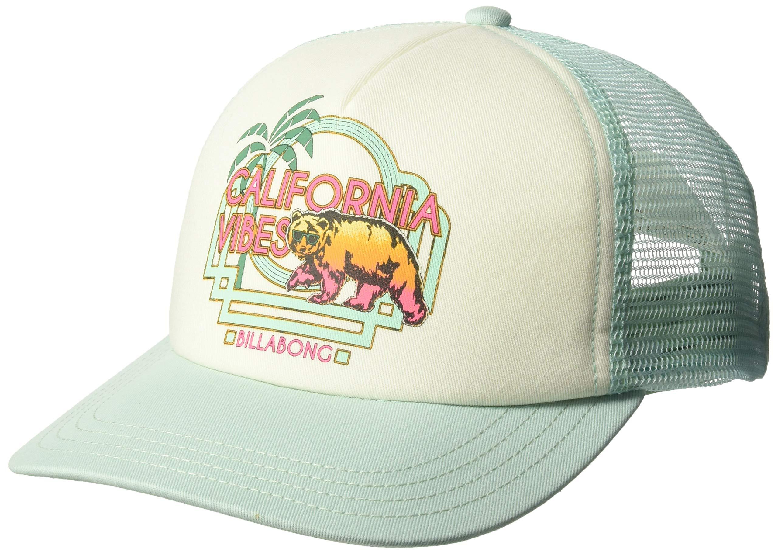 Billabong Girls' Big Cali Vibes Hat, Beach Glass, ONE by Billabong (Image #1)