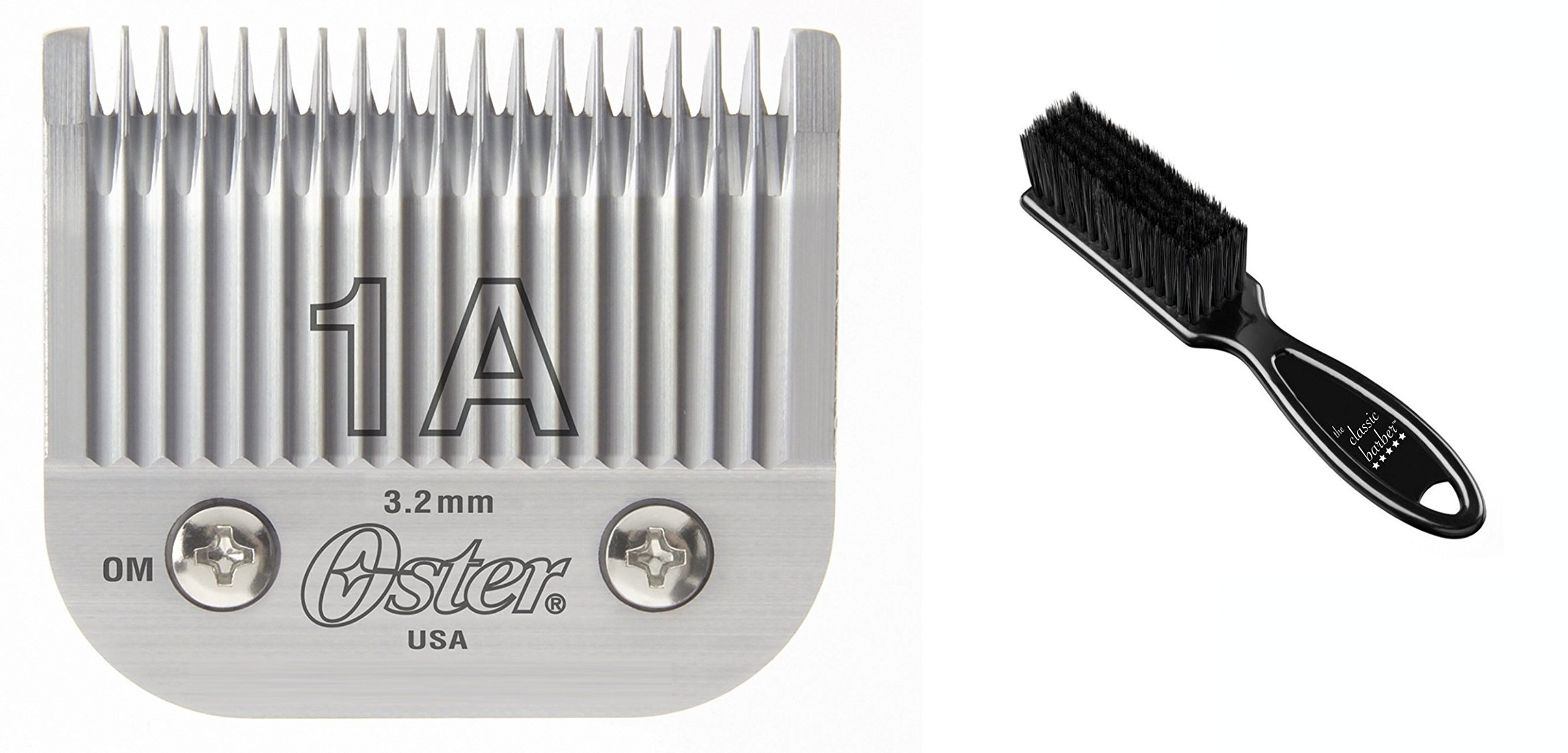 Oster Professional 76918-076 Replacement Blade for Classic 76/Star-Teq/Power-Teq Clippers, Size #1A 1/8'' (3.2mm)