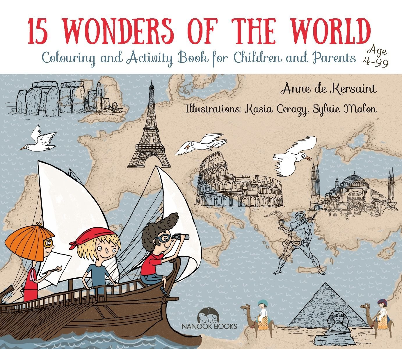 WORLD WONDER Folded Book Art