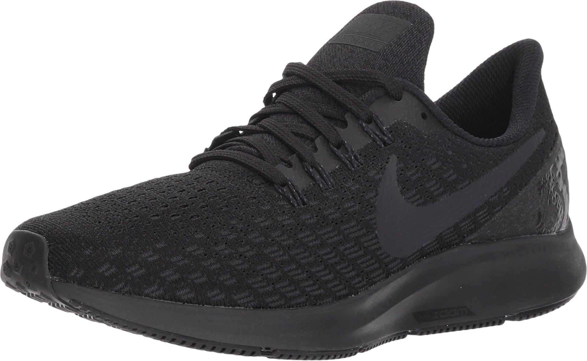 Nike Women's Zoom Pegasus 35 Running Shoe Black/Oil Grey/White Size 9 M US