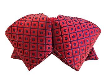 Hello Mariachi pajarita Mono traje de charro, rojo brocado mexicano parte