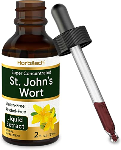 St Johns Wort Tincture 2 Oz Alcohol Free Vegeterian
